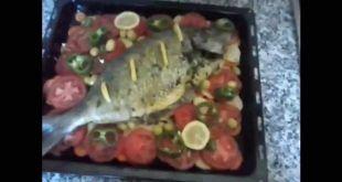 السمك المشوى