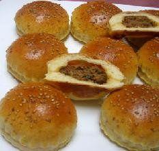 خبز محشي بالفرن -1