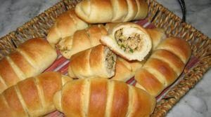 خبز محشي بالفرن -2