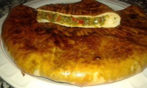 خبز محشي بالفرن -4